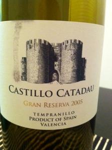 Castillo Catadau Gran Reserva 2005 Tempranillo