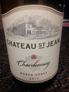 Chateau St Jean Chardonnay 2012