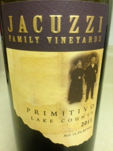 Jacuzi Primitivo 2011