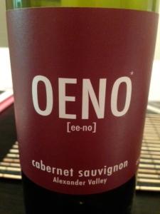 Oeno Cab Sauv 2012
