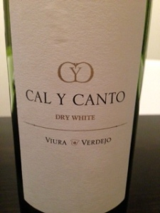 Cal Y Canto Dry White 2012
