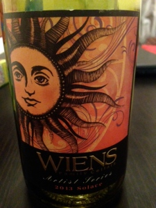 Weins Family Cellars Solace 2013