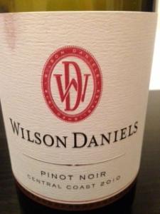 Wilson Daniels Pinot Noir 2010