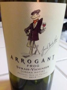 Arrogant Frog Syrah-Viognier