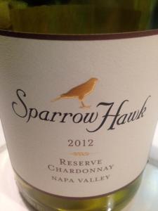 Sparrow Hawk Chardonnay 2012