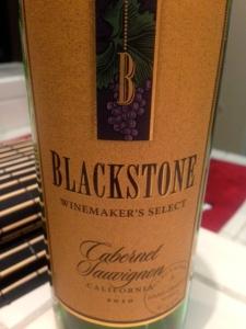 Blackstone Cabernet Sauvignon 2010