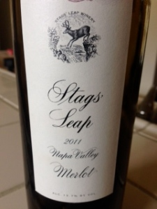 Stags Leap Napa Valley Merlot 2011