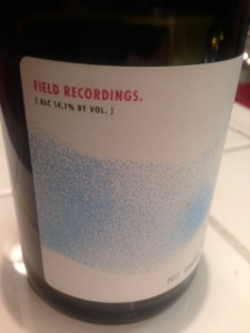 Field Recordings Carignan 2012