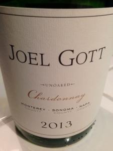 Joel Gott Chardonnay 2013