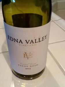 Edna Valley Pinot Noir 2012