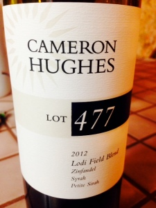 Cameron Hughes Lot 477 2012