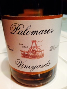 Westover Palomares Vineyards La Peche