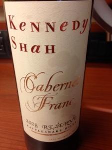 Kennedy Shah Cab Franc