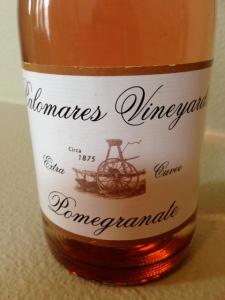 Palomares Vinyards Pomegranate