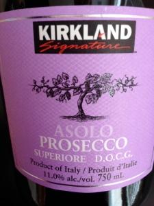 Kirkland Prosecco