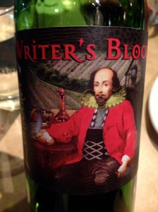 Writer's Block 2011 Zinfandel