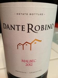Dante Robino Malbec 2012