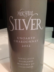 Mer Soleil Silver Unoaked Chardonnay 2012