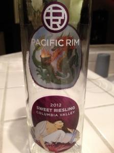 Pacific Rim Sweet Riesling 2012