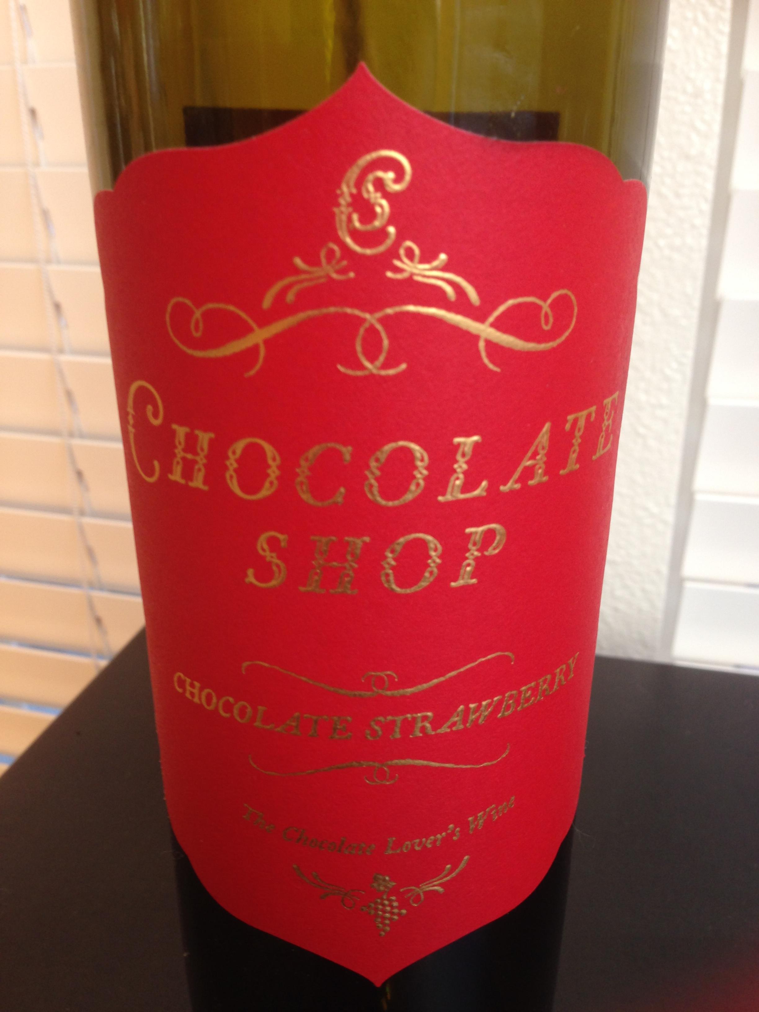 Chocolate Shop Strawberry Wine NV | The Vino Duo