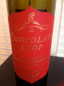 Chocolate Shop Chocolate Strawberry Red Wine