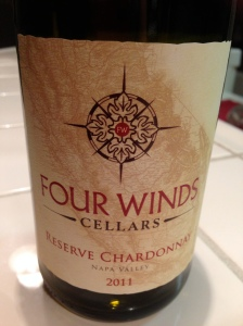 Four Winds Cellars Reserve Chardonnay 2001