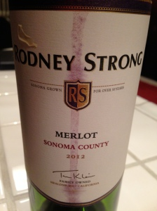 Rodney Strong Merlot 2012