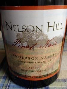 Nelson Hill Pinot Noir