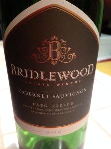 Bridlewood Cabernet Sauvignon Paso Robles