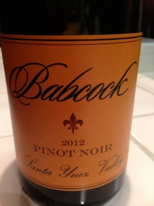 Babcock Pinot Noir