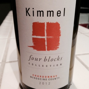 Kimmel Four Blocks 2012 Chardonnay
