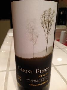 Ghost Pines Merlot 2012