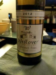 Westover Cab Franc