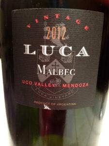 Luca Malbec