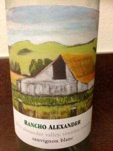 Rancho Alexander Sauvignon Blanc