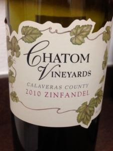 Chatom Vineyards 2010 Zinfandel