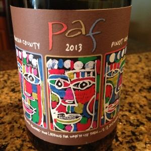 Paf Pinot Noir