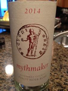 Mythmaker Pinot Noir Rose