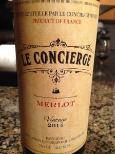 Le Concierge Merlot 2014