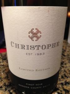 Christophe Pinot Noir 2012