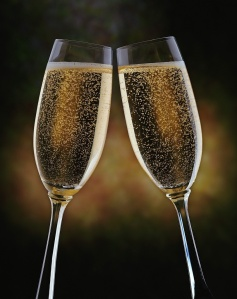 Champagne! Bubbles!