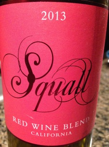 Squall Red Wine Blend