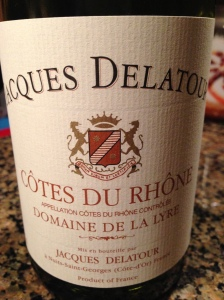 Jacques Delator Cotes du Rhone