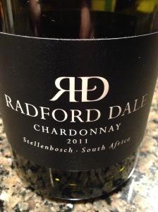 Radford Dale Chardonnay 2011
