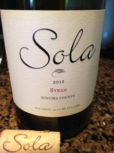 Sola Syrah 2012