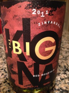 The Big Zinfandel 2011