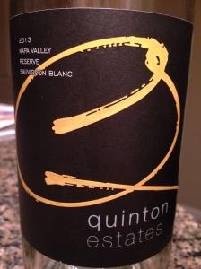 Quinton Sauv Blanc Napa