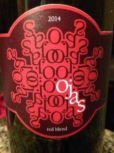 Ojas Red Blend 2014