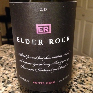Elder Rock Petite Syrah 2013
