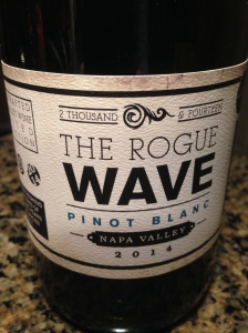 The Rogue Wave Pinot Blanc 2014